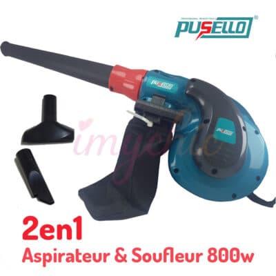 Aspirateur et Souffleur 2en1 800W PUSELLO PB001, imychic