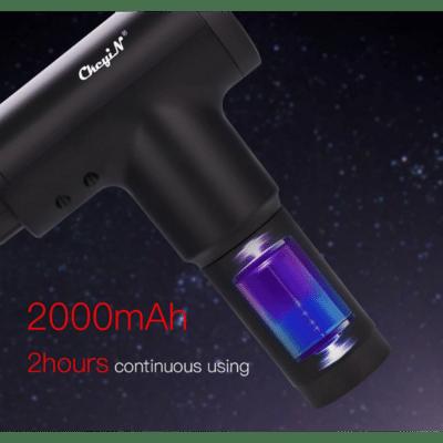 Pistolet de massage professionnel rechargeable avec accessoires SH-218, imychic