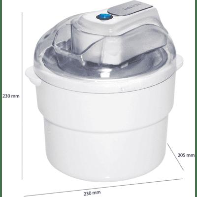 Sorbetière électrique Professional 1.5L CLATRONIC ICM3581, imychic