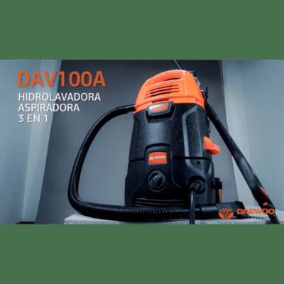 Nettoyeur Haute Pression 105bar Et Aspirateur et Souffleur 1600w 3en1 DAEWOO DAV100A, imychic