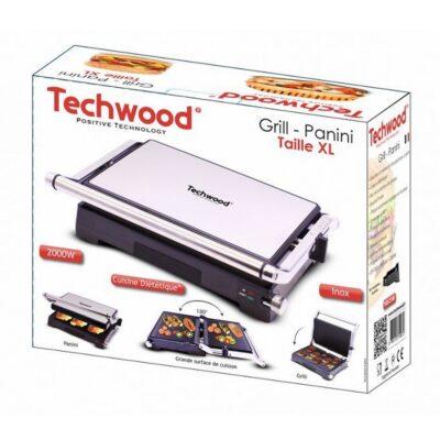 شواية وصانعة سندويش كهربائية احترافية  TGD-2180 Techwood, إيمي شيك