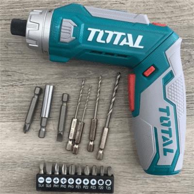 Visseuse À Batterie Lithium 8V Pliable TOTAL TSDLI0801, imychic