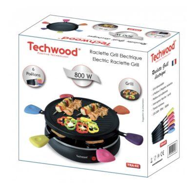 Raclette Électrique TECHWOOD TRA-62, imychic