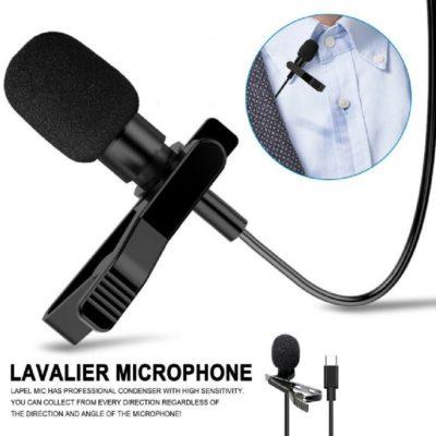 Lavalier Microphone Audio Port Type C Longueur 1m GL-121, imychic